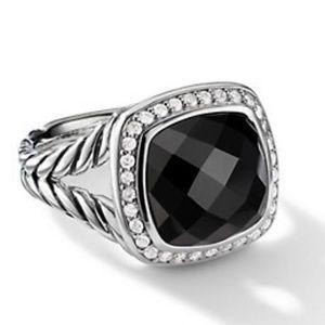 David Yurman Onyx 11mm Albion Ring